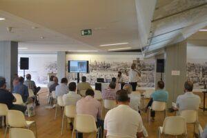 Intervención de Antonio Muriel y Juan Antonio Montes de THU Ceiling Solution